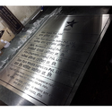 Office Steel Name Plates