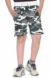 Harbor N Bay Boys Cotton Camaou / Army Print Short