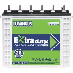 Luminous 150 Ah Bike Battery EX18036, Voltage: 12 V