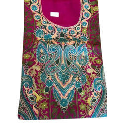 Woolen Ladies Embroidered Unstitched Suit