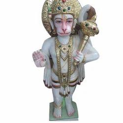 Bajrangbali Marble Statue
