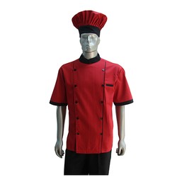 Red Color Chef Uniforms