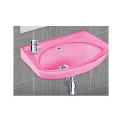Tarryware Wall Mounted Wash Basins Pink, For Home,Hotel