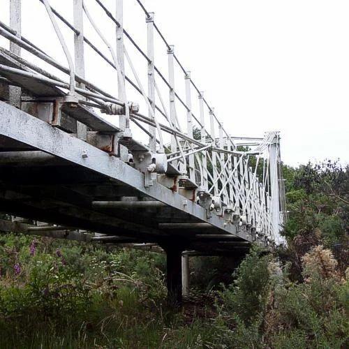 Steel Fabrication Services: Steel Cable Bridge Fabrication Service In Masoori