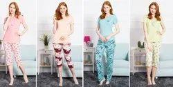 Full Length Ladies Pajama, Size: S-XXL