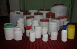 HDPE Containers and Bottles for Pharma, Chemical, Ayurvedic