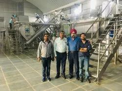 White Potato Flakes Processing Plant Setup, Packaging Size: 20 Kg