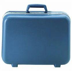 Midnight Blue and Platinum Polypropylene and Aluminium VIP Vectra Suitcase