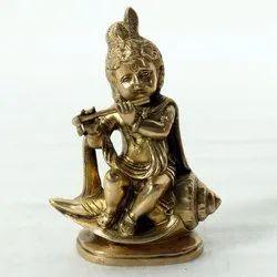 Capstona Brass Krishna Idols