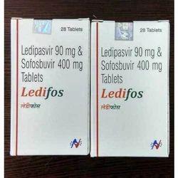 Ledipasvir 90mg & Sofosbuvir 400mg Tablets