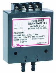 Dwyer Series 616C -7 Differential Pressure Transmitter Range 0-200 Inch wc