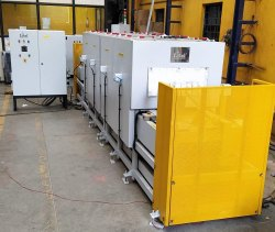 Conveyorised IR Dryer Oven for Automotive Components