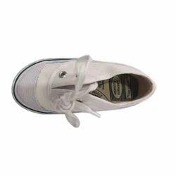 Men Lakhani White Tennis Shoes, Size: 7-10