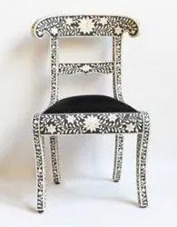 Black Bone Inlay Chair
