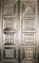 German Silver Metal Door