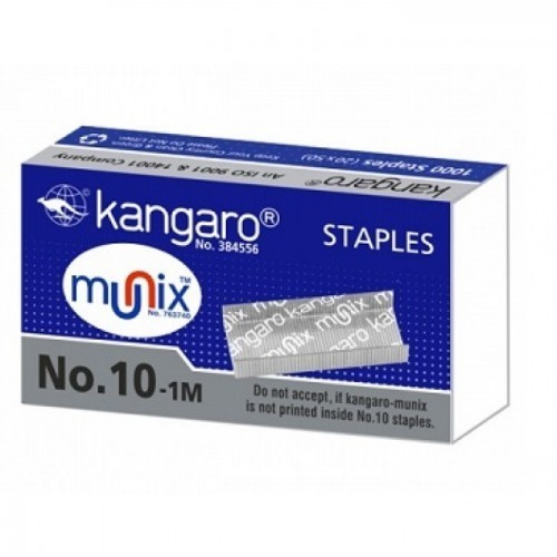 Stapler Pin 10 Nos KANGAROO Per Box