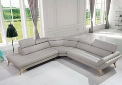 L Shape Leather Sofa Set