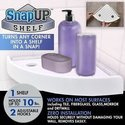 Snap Up Shelf Quickly Add Storage To Any Corner In The House Bathroom Kitchen 403