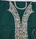Ethnic Golden Inspiration Ladies Long Dress