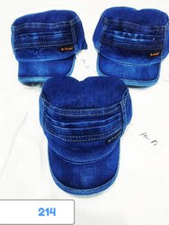 Denim Jeans Caps And Hats, Code 214