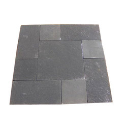 Black Limestone. Usage: Countertops, Flooring
