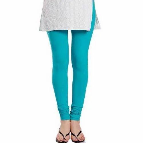 f695f8a09b Ladies Blue Color Leggings, प्लेन लेगिंग, सादी ...