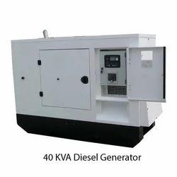 Air Cooling 40 KVA Diesel Generator