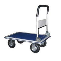 Mild Steel Platform Trolley, Load Capacity: 100-150  Kg, Model Name/Number: Sasp 115