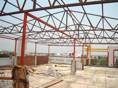 Steel Terrace Roofing Shade Rs 130 Square Feet Perfect