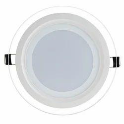 35 W Ceramic And Chrome LED Panel Down Light
