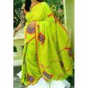 Ladies Printed Saree, Length: 6.5 M