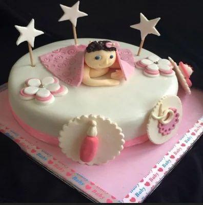 Cool Baby Shower Cake Birthday Cake In Gwalior Gwalior Gozo Funny Birthday Cards Online Inifodamsfinfo