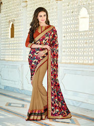 ec2e9347b6 Daily Wear Collection - Multi Color Saree Manufacturer from Surat