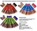 Ras Garba Ghagra Choli -  Gujarati Traditional Chaniya Choli - Elephant Embroidered Dandiya Dress