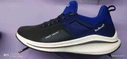 Black, Blue Designer Mens Sports Shoes, For Running