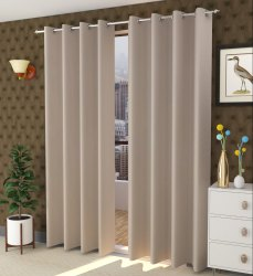 Plain Matty Curtain for Home/Hotels