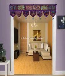 Embroidered Handmade Patchwork Door Hanging