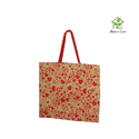 Jute Bag With Thin Webbing Cord Handle