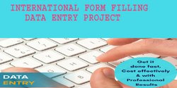 International Form Filling Data Entry Project