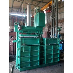 Hydraulic Double Box Single Cylinder Baling Press Machine