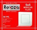 Plastic White Modular Plate