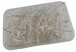 Eshoppee 1kg Silver Color Metal Head Pin Keel For Jewellery Making Fitting And Findings