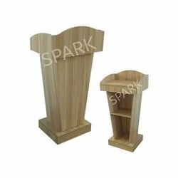 PD-03 Wooden Pulpit Speech Podium