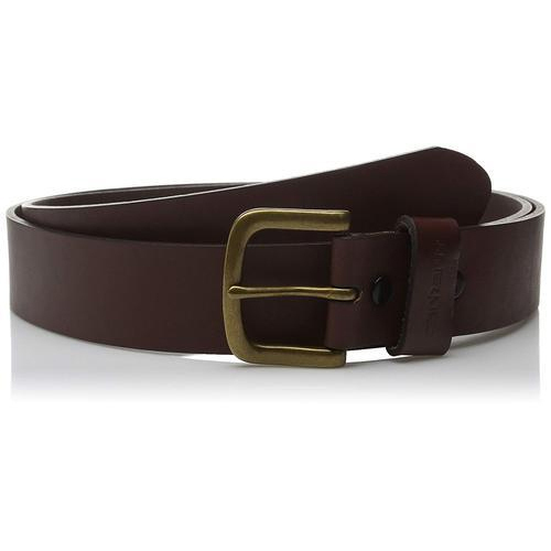 Black Casual Wear Mens Leather Belt