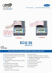 ECG Machine 1 Ch /3 Ch / 6 Ch / 12 Ch, Digital, Number Of Channels: 3 Channels