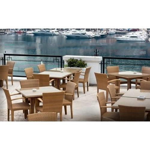 Wicker Outdoor Furniture, Table Shape: Square
