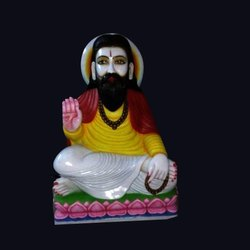 Marble Sant Ravi Das Statue
