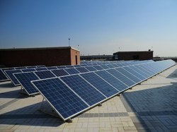 Off Grid Roof Top Solar PV System