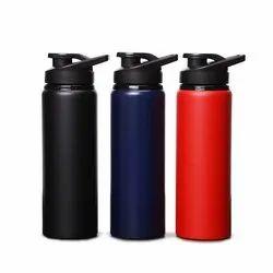 Matt Stainless Steel Single Layer Bottle, Capacity: 750 mL