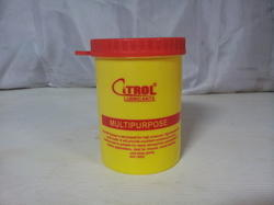 Plastic Straight Container for Grease 1kg